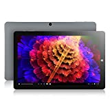 CHUWI HiBook Pro 10.1 inch Windows 10/Android 5.1 Dual Boot 2 in 1 Windows Tablet with Ultra HD, OGS IPS Screen 2560 x 1600, Intel X5 Atom Z8350 Quad Core, 4G RAM 64GB ROM, Type-C and HDMI