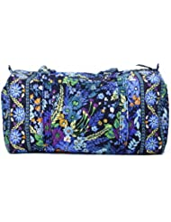 Vera Bradley Large Duffel, Midnight Blues
