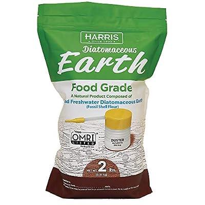 Harris Diatomaceous Earth Food Grade, 2lb Powder Duster
