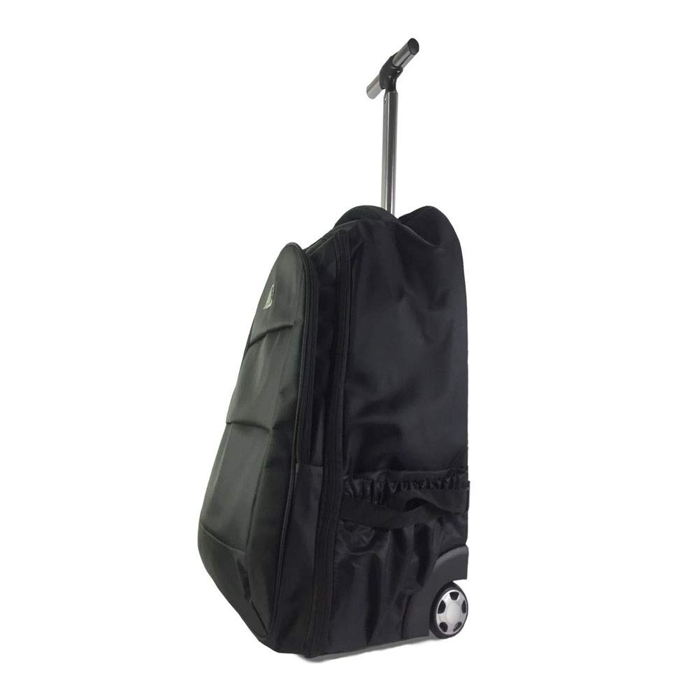 Business Bag for Men and Women XIANWEI Trolley Backpack Shoulder Trolley Bag Color : Black, Size : 48x20x30cm Color Optional 19/21 Inch Computer Backpack