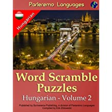 Parleremo Languages Word Scramble Puzzles Hungarian - Volume 2