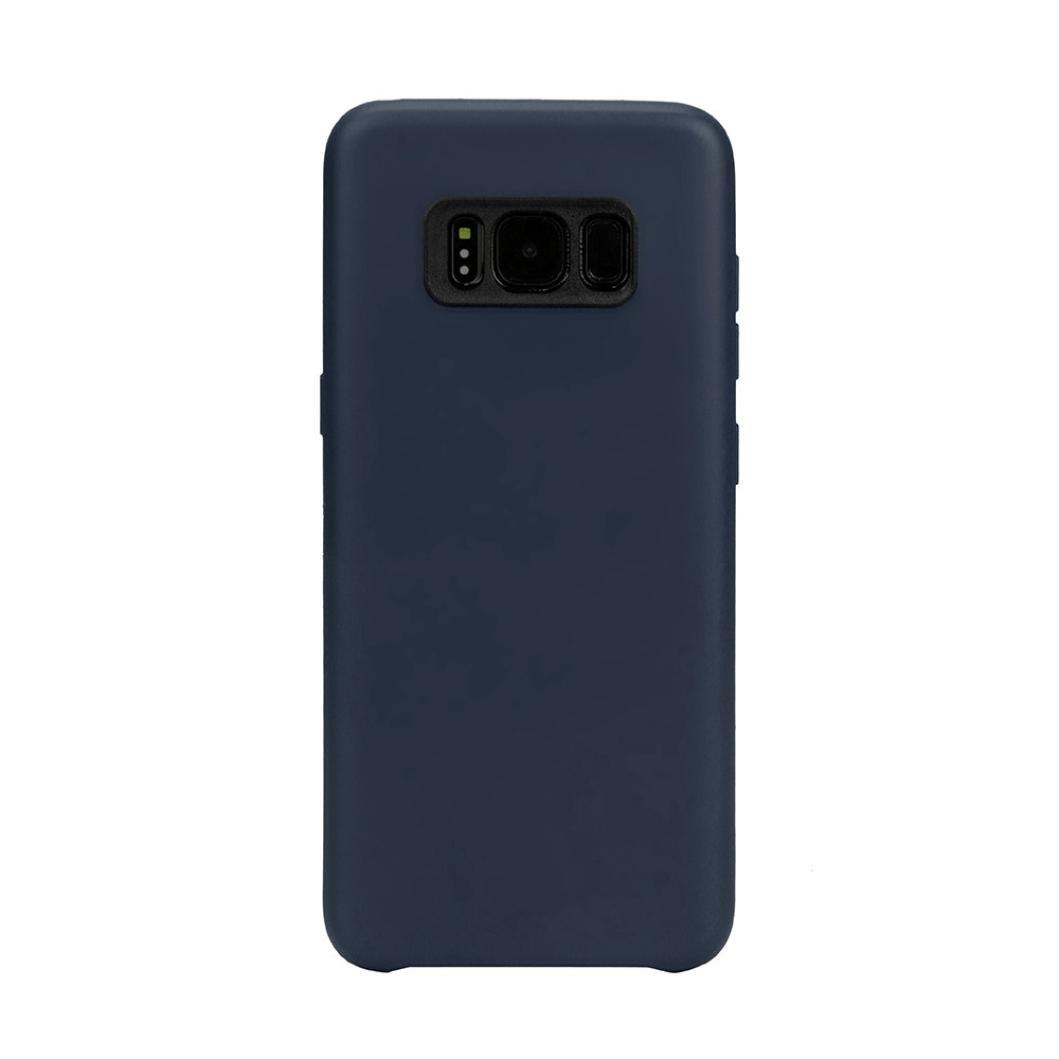 For Samsung Galaxy s8、gbsellファッション超薄型カバーケース  ネイビー B06XYGCNL9