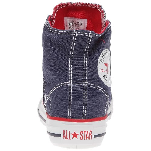 Converse - Zapatillas de tela para niña Azul (Blau (Marine))