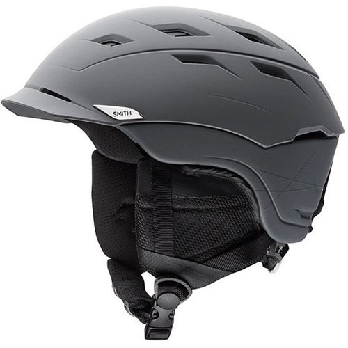 Smith Optics Unisex Adult Variance Snow Sports Helmet - Matte Charcoal Medium (55-59CM) by Smith Optics
