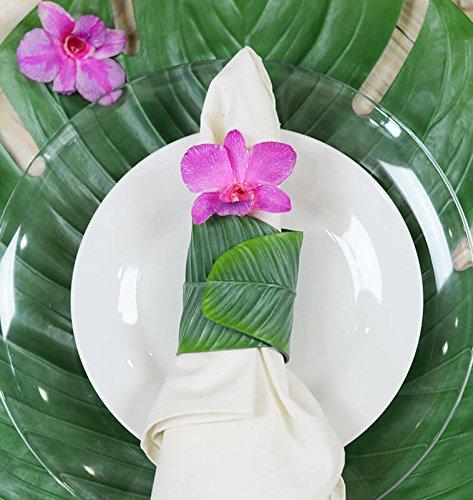 Richland Banana Leaf Napkin Rings Set of 36