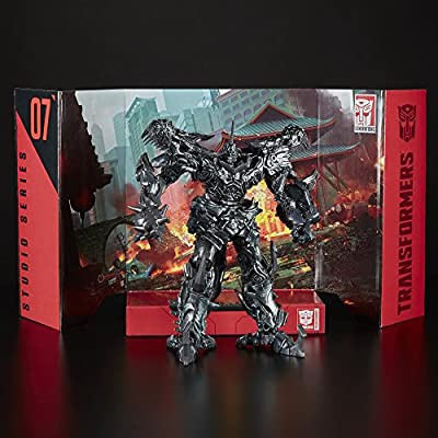 Transformers Studio Series 07 Leader Class Movie 4 Grimlock: Toys & Games