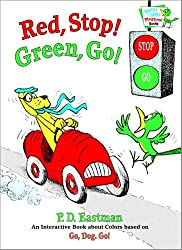 Red, Stop! Green, Go!: An Interactive Book of Colors (Bright & Early Playtime Books)