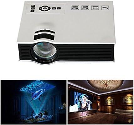 Tongshi 1080P HD 1200lumens LED Mini Inicio proyector multimedia ...