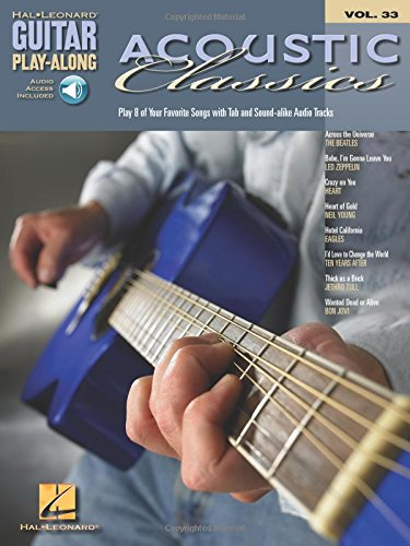Guitar Play-Along Volume 33: Acoustic Classics: TAB: Amazon.es ...