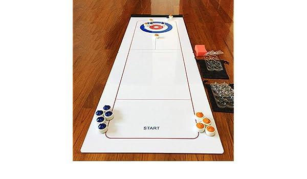 Dream-cool - Juego de Mesa y Curling para Jugar a la Mesa o Jugar, para niños y Adultos: Amazon.es: Deportes y aire libre