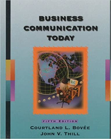 Business communication today 5th ed 9780137830022 business business communication today 5th ed 9780137830022 business communication books amazon fandeluxe Gallery