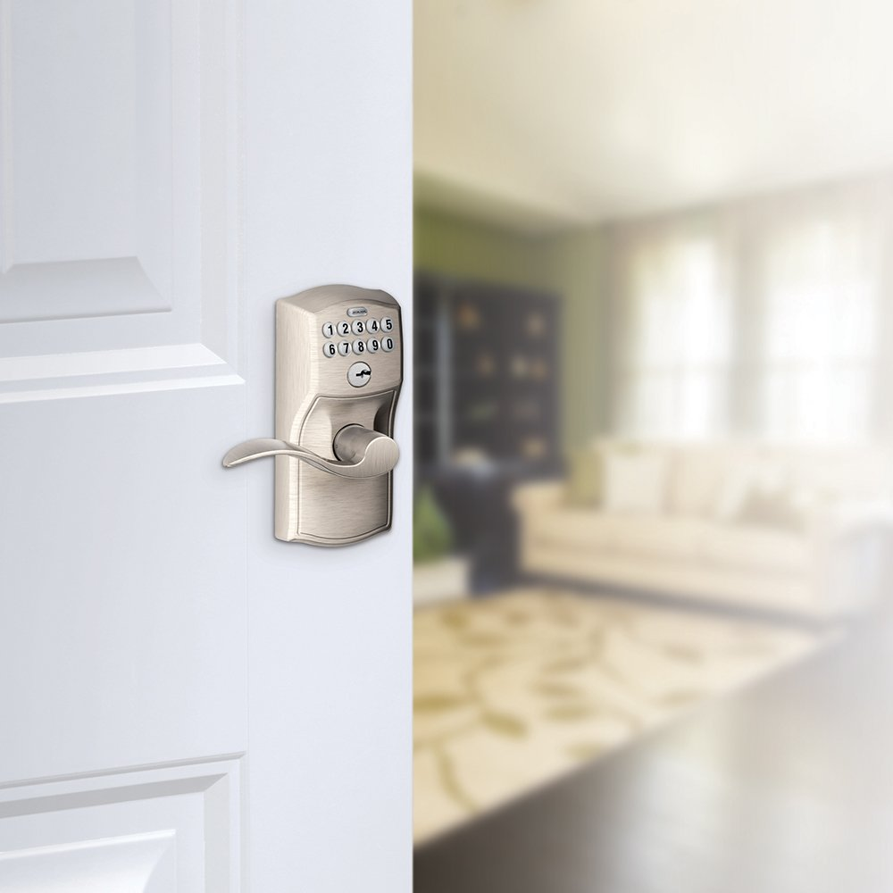 schlage and a reversible both left pack locks for entry right combo door pin nickel handed single accent features that deadbolt doors satin lever cylinder works