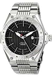 ANDROID Men's AD670AK Enterprise Japanese-Automatic Silver-Tone Stainless Steel Watch