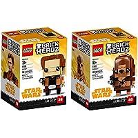 Deals on LEGO Brickheadz Han Solo & Chewbacca Bundle 290 Pieces