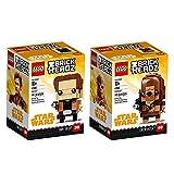 LEGO Brickheadz Han Solo & Chewbacca Bundle, Solo: A Star Wars Story (290 Pieces)