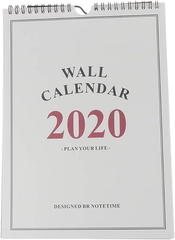 Hand Drawing Scheduler Desktop Paper Calendar Agenda Organizer Home Decor