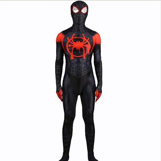 BLOIBFS Disfraz Spiderman Niño,Superhéroe Halloween Carnaval Traje ...