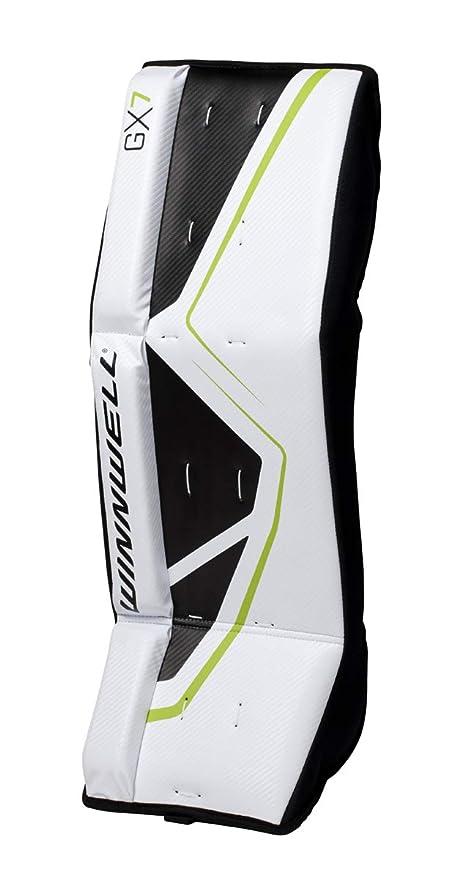 Amazon Com Winnwell Gx 7 Premium Street Hockey Goalie Pads 21
