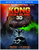 Kong: Skull Island (Bilingue) [Blu-Ray 3D + Blu-Ray + Copie numérique UV]