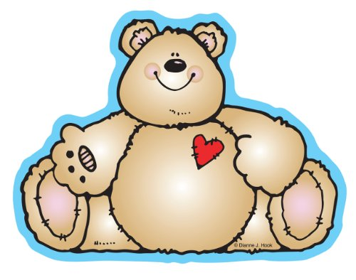 Heartfelt Bears Cut-Outs (Cut Outs Heartfelt Bears)