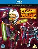 Star Wars: The Clone Wars - The Complete Series - Seasons 1-5 Box Set [Blu-ray]