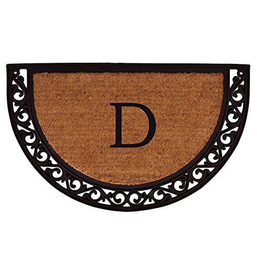 Home & More 100102436D Ornate Scroll Doo - Monogrammed Natural Shopping Results