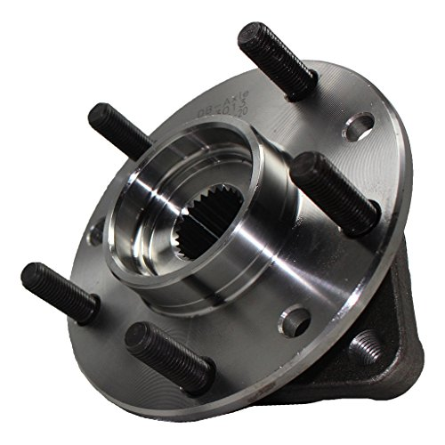 Detroit Axle Front Wheel Hub and Bearing Assembly - 1983-1990 GMC S15 4WD - [1983-1990 GMC Jimmy 4WD] - 83-90 S10 4WD - [83-90 Blazer 4WD] - Riviera, Eldorado, Seville, - 85 Gmc 87 86 Jimmy