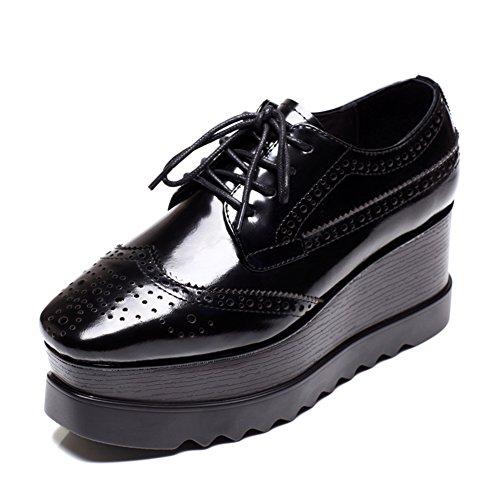 Caída plataforma zapatos/Zapatos correa A