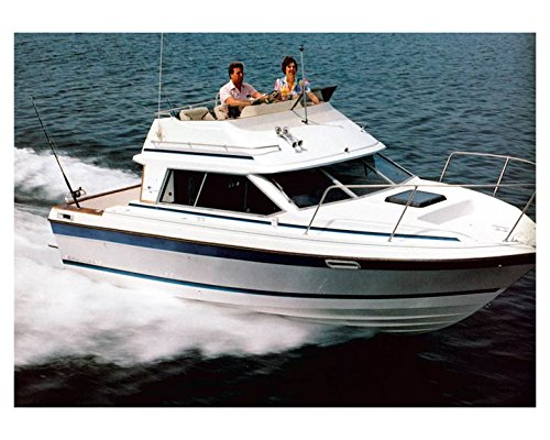 1988 Bayliner 2560 Trophy Convertible Power Boat Factory Photo (Print 2560)