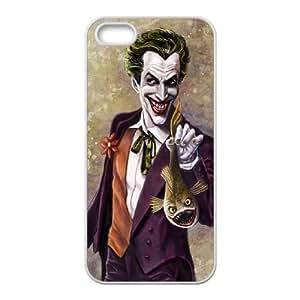 iPhone 5 5s White Cell Phone Case Batman Joker STY791897 Hard Phone Case