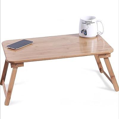 NAN Tables pliantes en bambou pour ordinateur portable (taille : M)