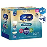 Enfamil NeuroPro EnfaCare Infant Formula - Brain Building Nutrition with Clinically Proven Growth Benefits for Premature Babies - Ready to Use Liquid Nursette Bottles, 2 fl oz (48 Count)