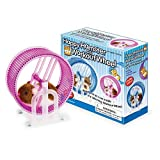 Happy Hamster Pet with WHEEL RUNNER Battery Operated Kid's Toy