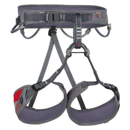 Mammut Ophir 3 Slide Climbing Harness (Cement-Cayenne, Medium)