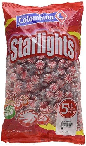(Colombina Peppermint Starlight Mints, 5-Lb Bag)