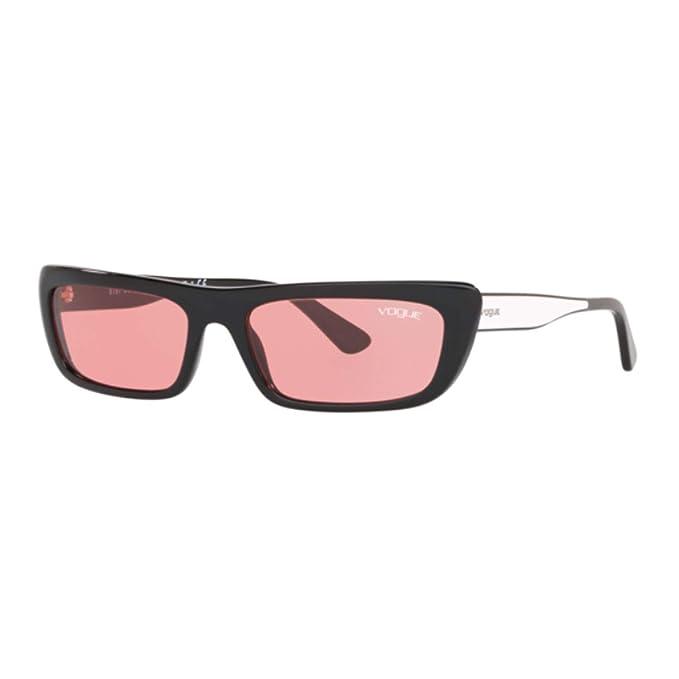 Vogue 0VO5283S Gafas de sol, Black, 54 para Mujer: Amazon.es ...
