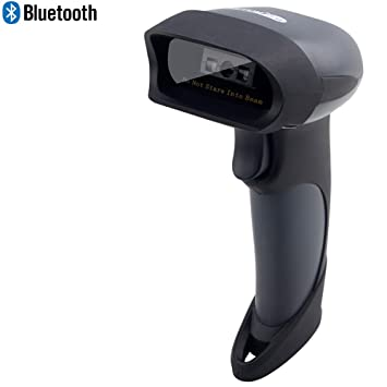 2 4ghz Wireless Barcode Scanner Handheld Bar Code Reader Usb Rechargeable