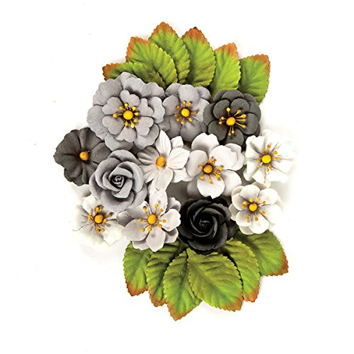(Prima Marketing Rose Quartz Flowers - Black Ma)