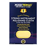MusicNomad String Instrument Premium Microfiber Polishing Cloth for Violin, Viola, Cello and Bass