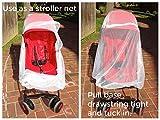 Baby Playpen Mosquito Net with Zippers, Premium