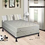 Spring Solution Mattress, 9-Inch Fully Assembled Orthopedic Back Support Queen Mattress and Box Spring,Hollywood Collection