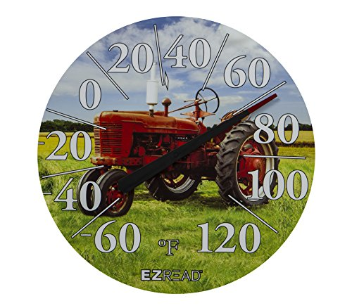Headwind Consumer Products 840-1234 EZREAD Dial Thermometer Red Tractor 12.5'' by Headwind
