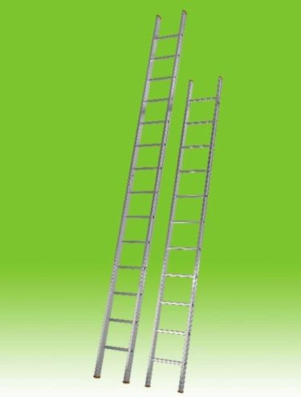 escalera Aluminio agricultura Construcción Simple doin 8 9 11 13 14 16 18 peldaños: Amazon.es: Bricolaje y herramientas