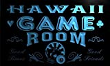 PL2011-b Hawaii Game Room Man Cave Beer Bar Neon Light Sign