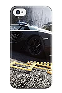 Irene R. Maestas's Shop Christmas Gifts Perfect Tpu Case For Iphone 4/4s/ Anti-scratch Protector Case (lamborghini Aventador)