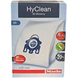 Miele HyClean 3D GN Type Microfiber Dust Bags for Miele Canister Vacuum Cleaners - 9917730