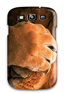 Galaxy S3 Case Slim [ultra Fit] Lions Of Animals For Desktop Protective Case Cover