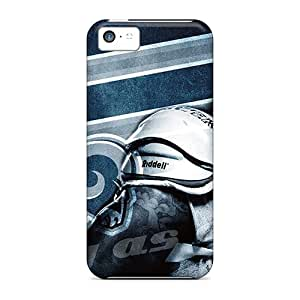Shockproof Cell-phone Hard Cover For Iphone 5c (jtC5729UhMH) Support Personal Customs High-definition St. Louis Rams Image