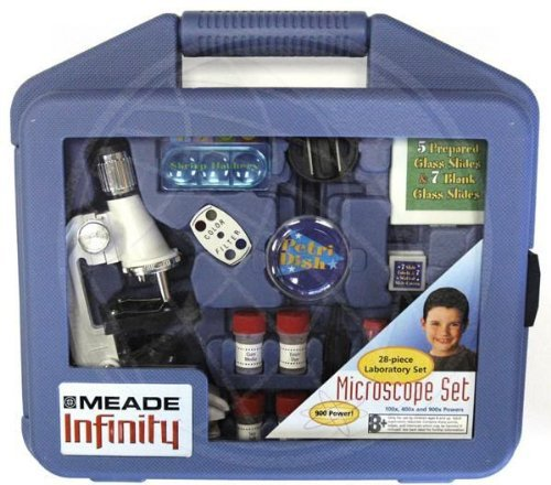 Meade 28-pc. Microscope Kit - White by - Microscope Meade