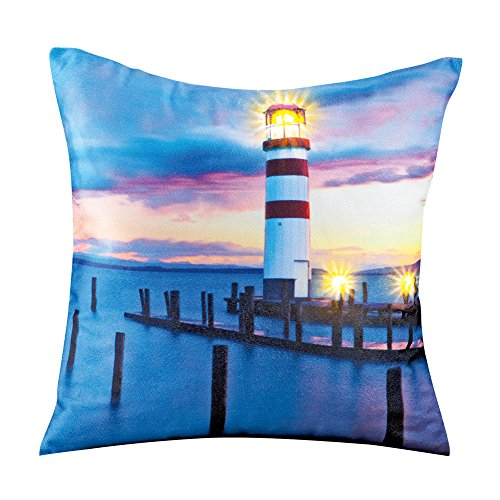 Collections Etc Nautical Lighthouse Home Décor Dock Scene P